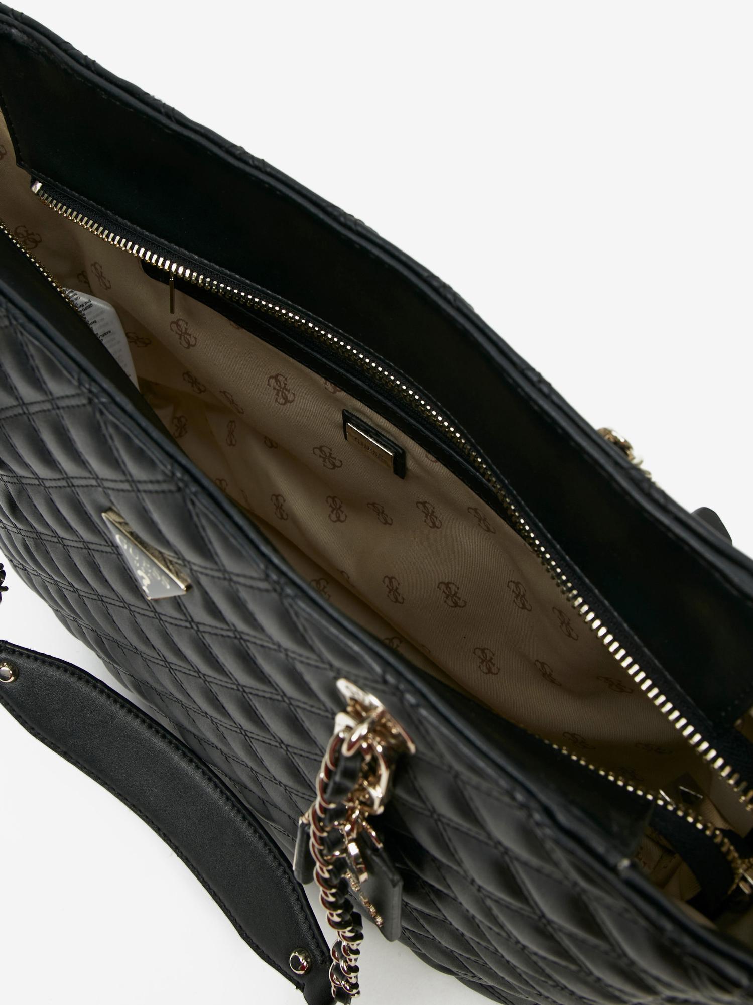 Guess negre geanta Cessily