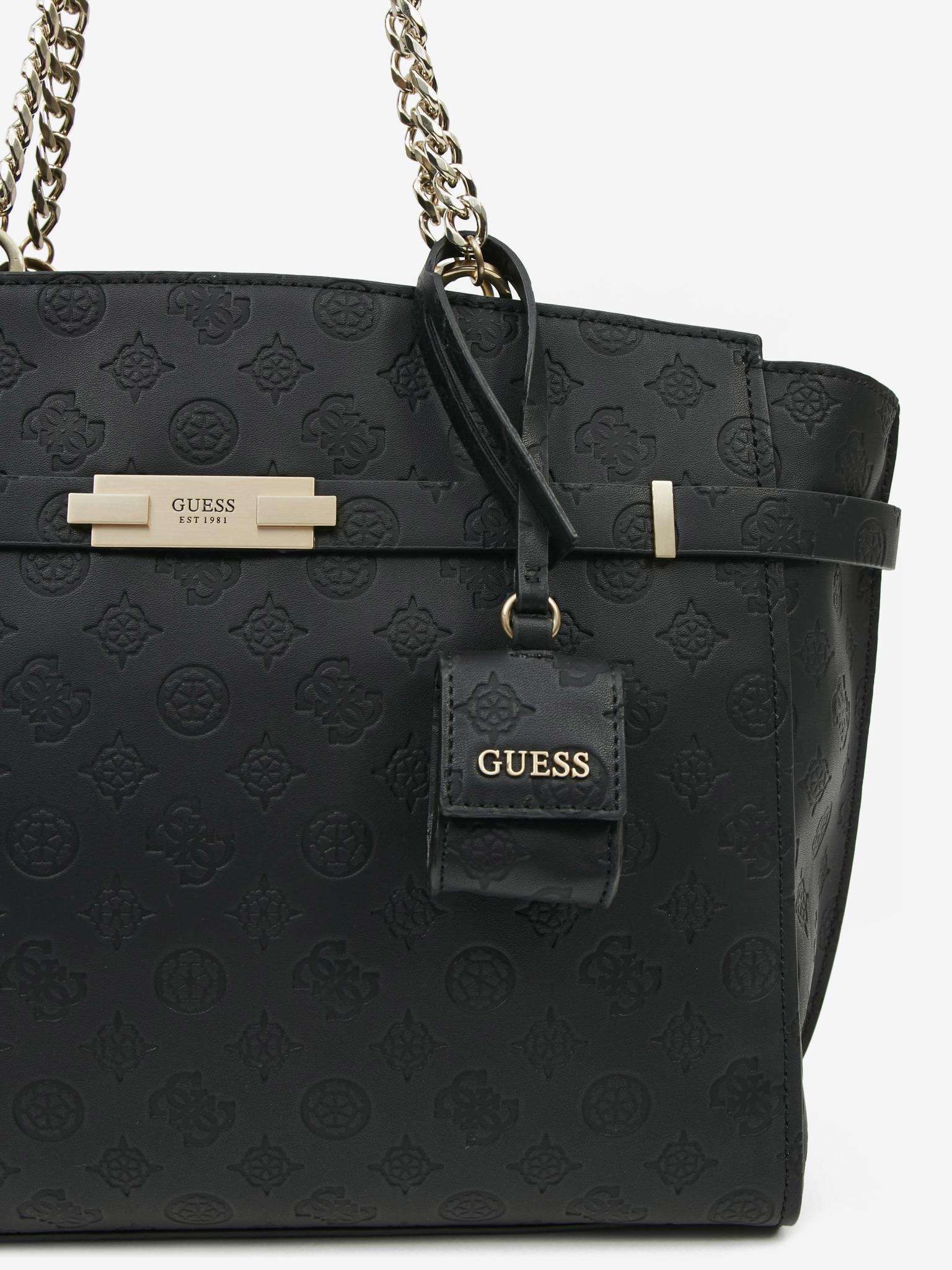 Guess negre geanta Bea Elite