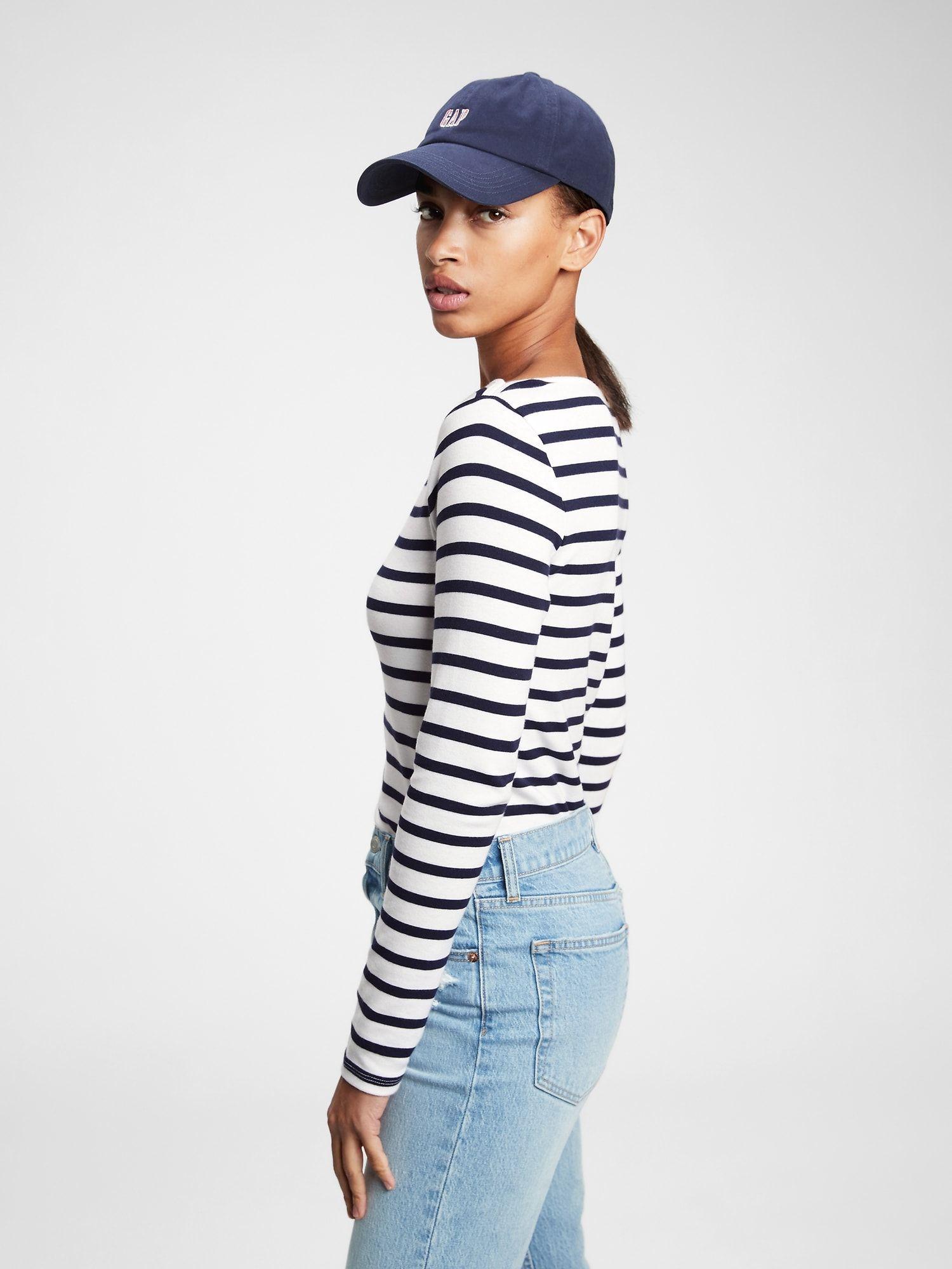 Tricou de dama albastru tricou modern cu gât de barca