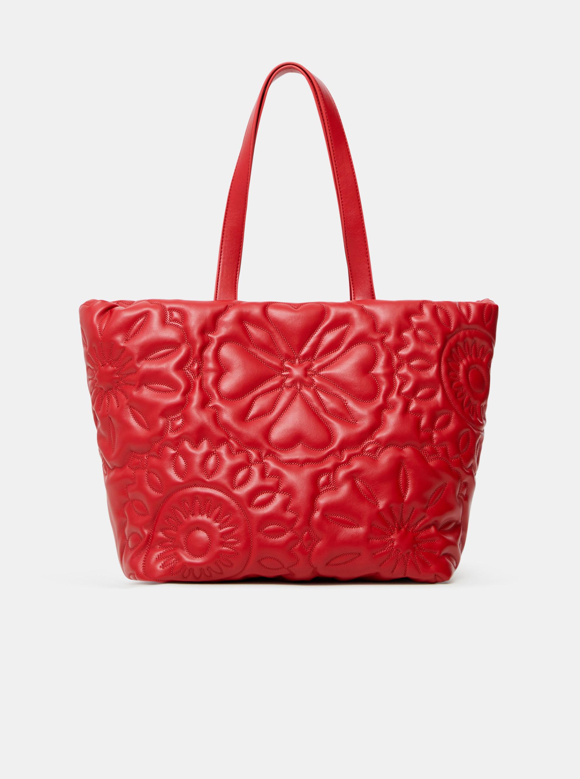 Desigual roșii geanta Big Big Bombay