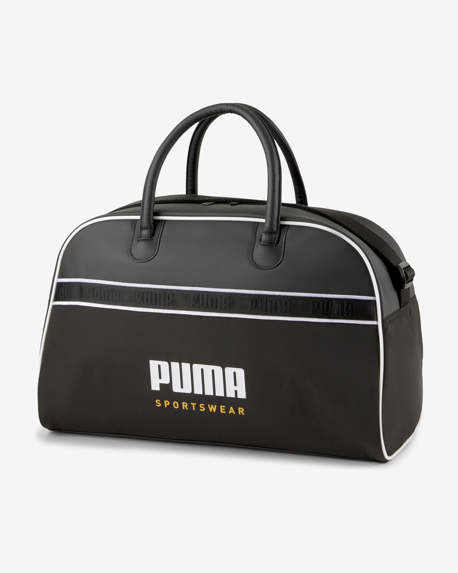 Puma Poseta de dama negru  Grib