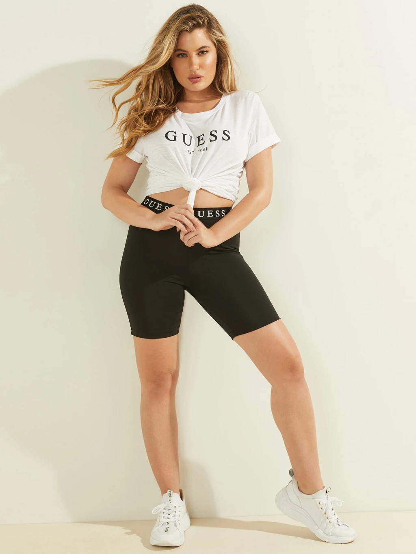 Guess Tricou de dama alb