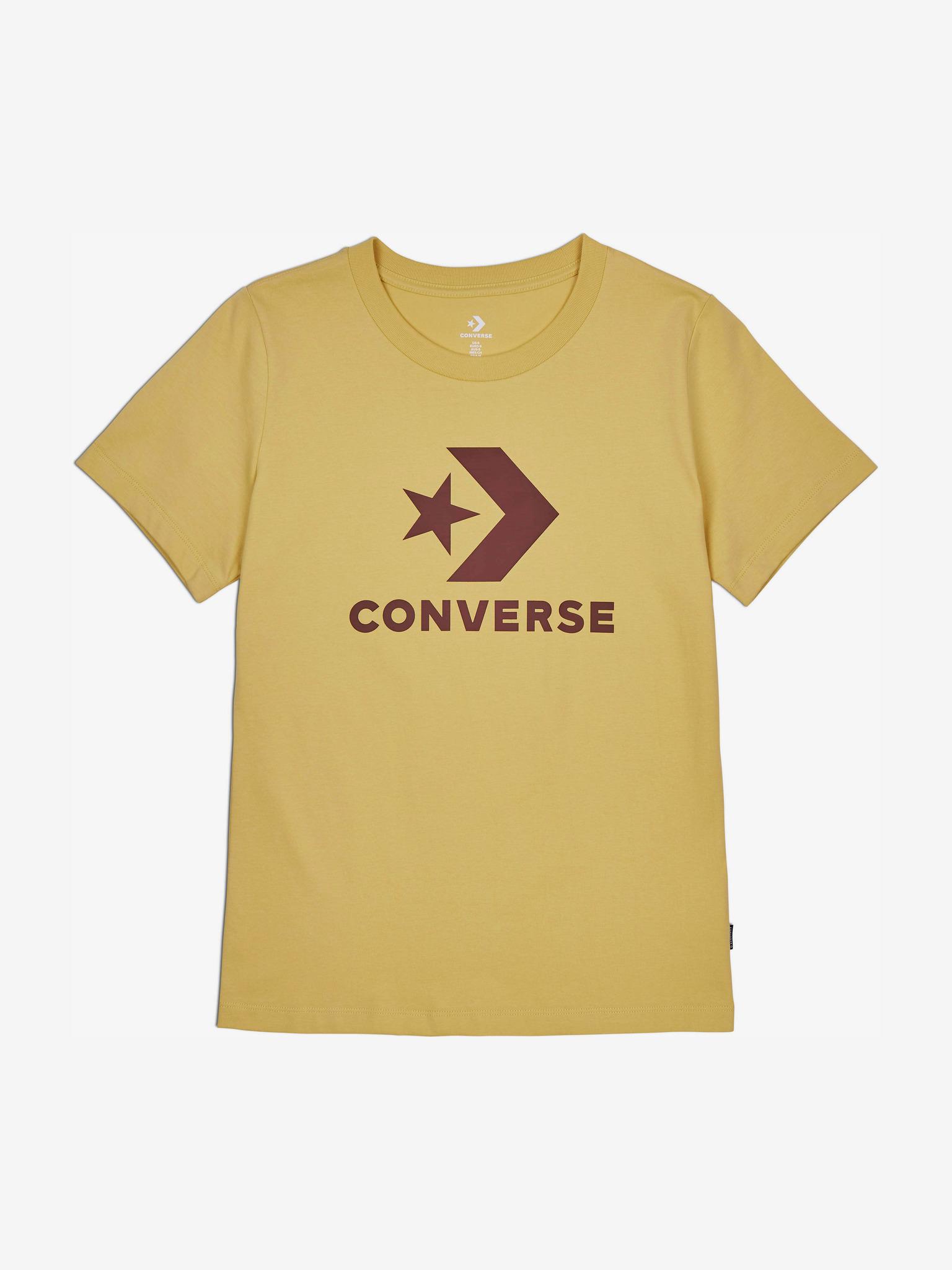 Converse Tricou de dama galben  Star