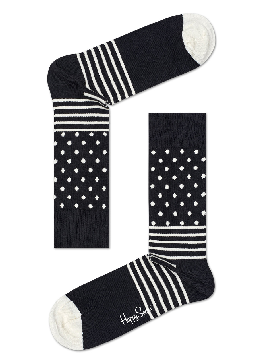 Happy Socks set sosete alb negre de barbati Sweden