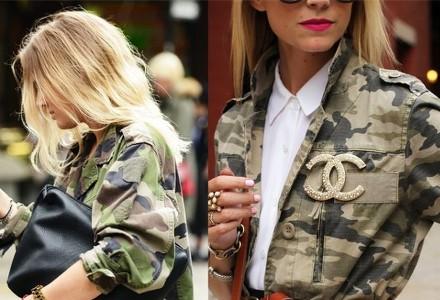Stilul Army - tendință de moda nemuritor