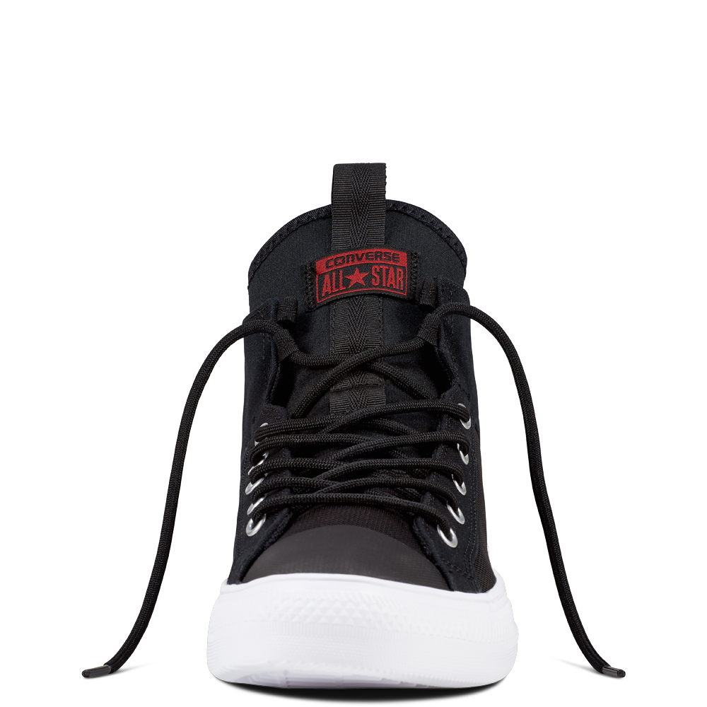 Converse Negru Chuck Taylor Toate Star Ultra Black / Gym Red / White