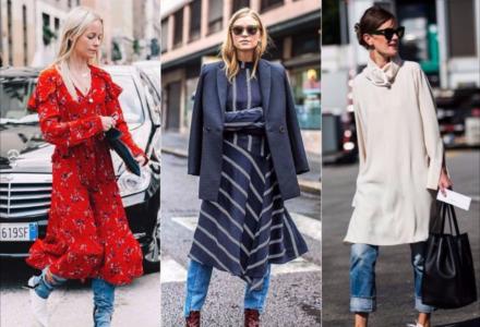 Cum sa purtam rochii toamna si iarna?