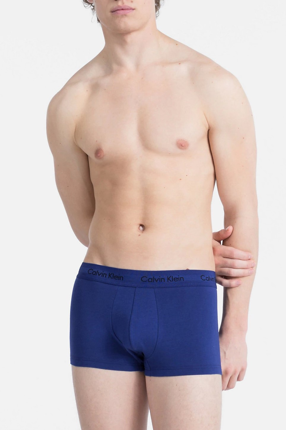 Calvin Klein 3 pack boxeri colorati de bărbați Cotton Stretch