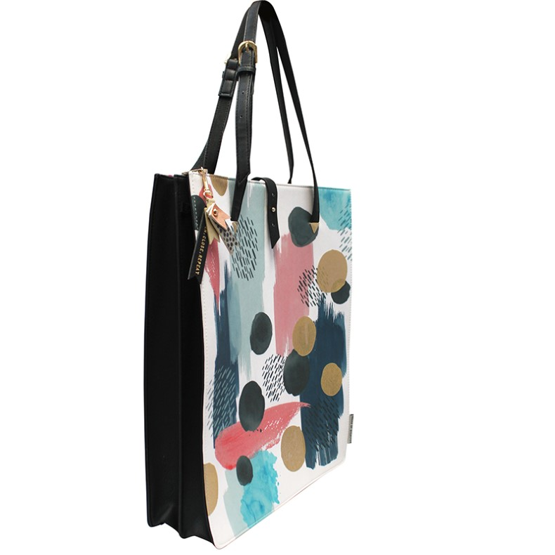 Disaster geanta colorata Paint Tote