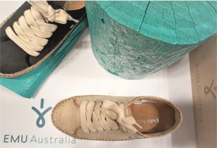 Pantofi de bumbac Emu - piese cu stil pentru primăvară