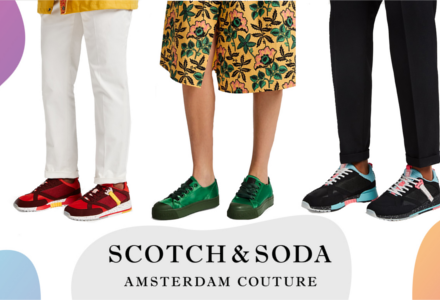 Pantofii Scotch & Soda - vom fi la modă amandoi!