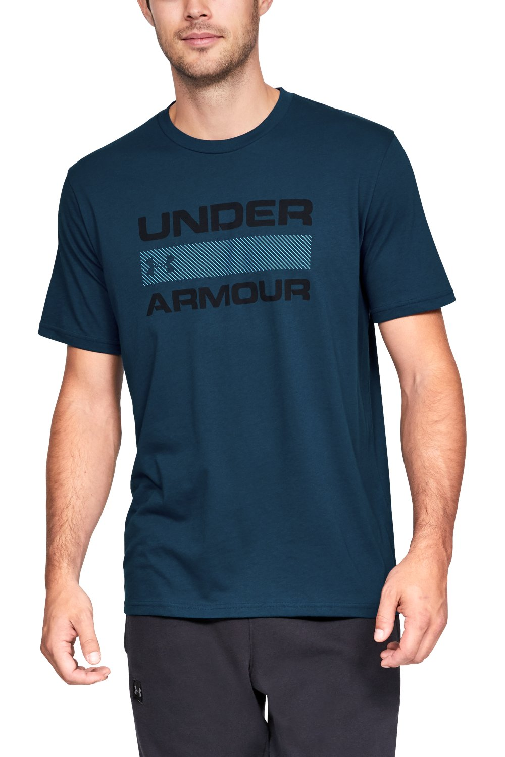 Under Armour tricou albastru de bărbați Team Issue Wordmark Ss