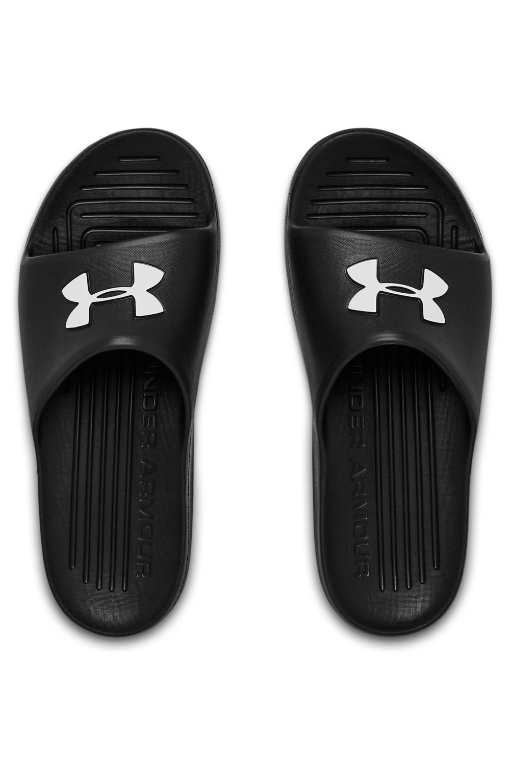 Under Armour papuci negri de casă Core Pth Slide