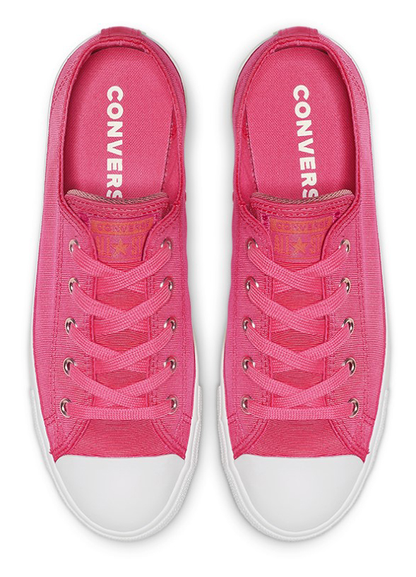 Converse tenisi roz Chuck Taylor All Star Dainty Ox Strawberry Jam