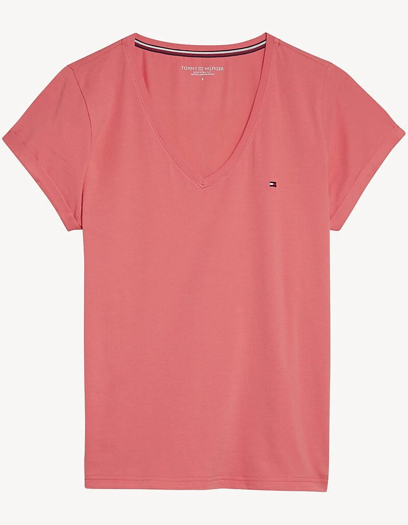 Tommy Hilfiger tricou somon VN TEE SS