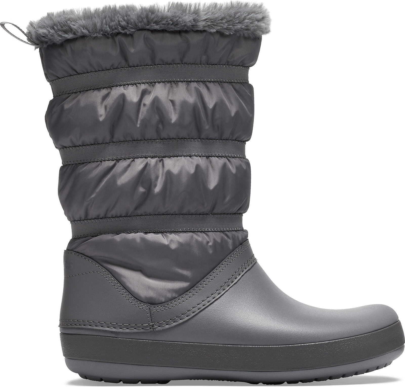Crocs cizme de zapada Crocband Winter Boot Charcoal