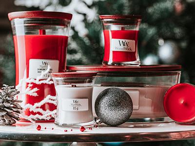 WoodWick parfumul lunii - DECEMBRIE