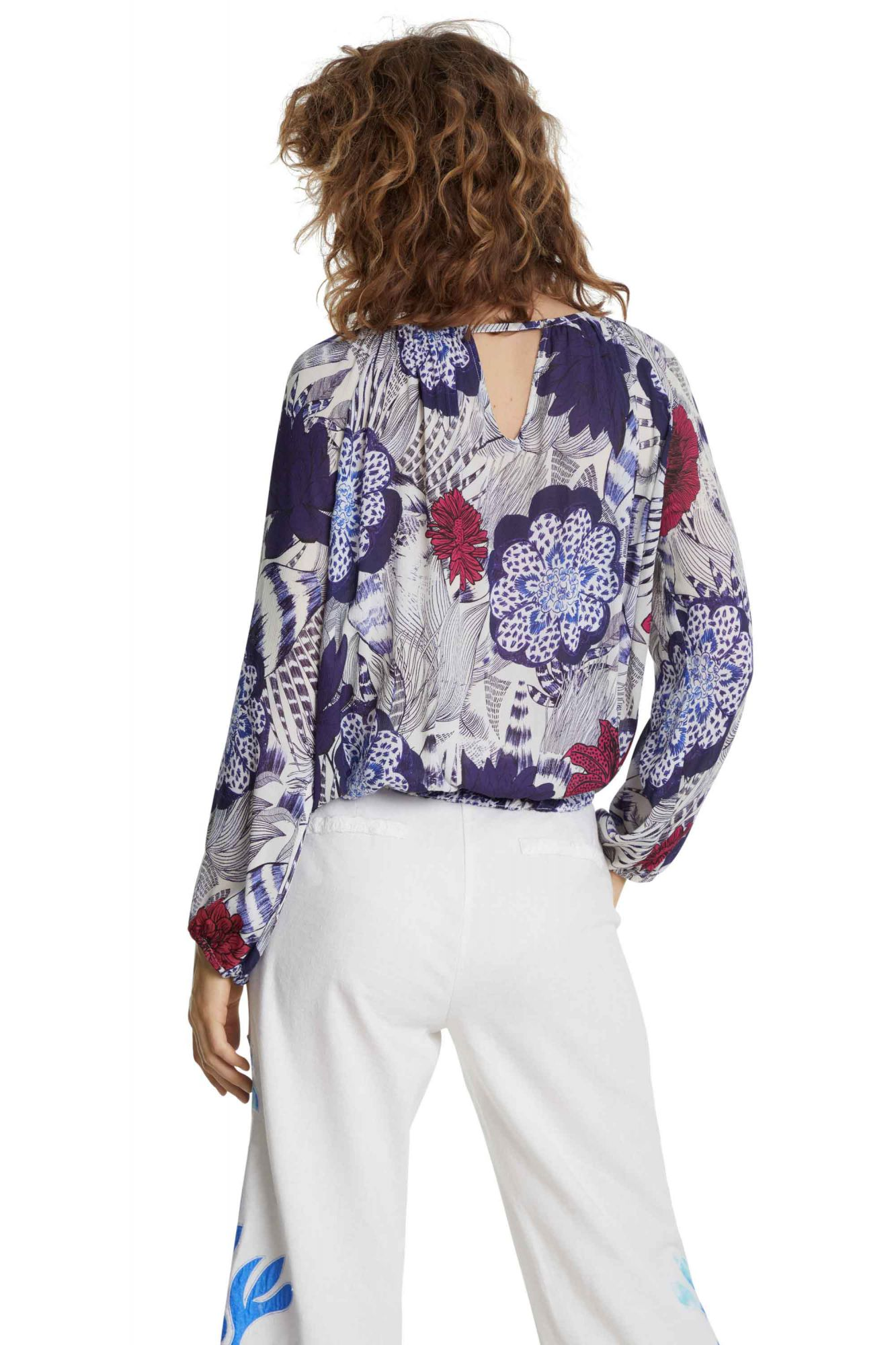 Desigual top colorat Blus Verona