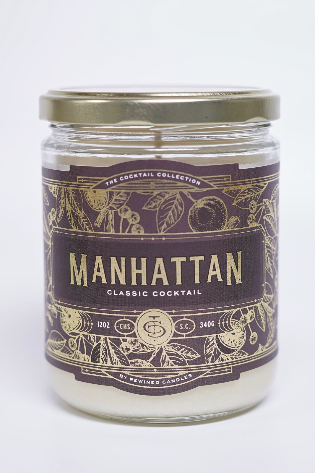 Rewined Candles lumanare parfumata Manhattan