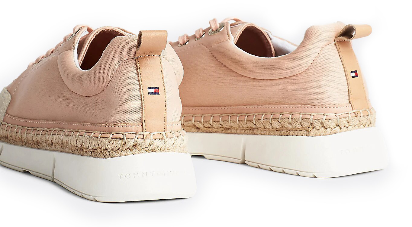 Tommy Hilfiger tenisi Sporty Lace up Espadrilles