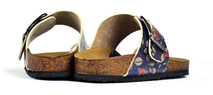 Calceo papuci albastri Thong Sandals Navy