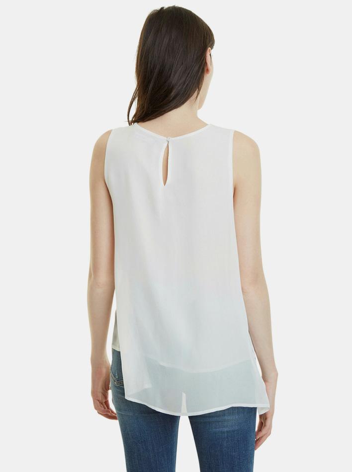 Bluză cu model alb Desigual