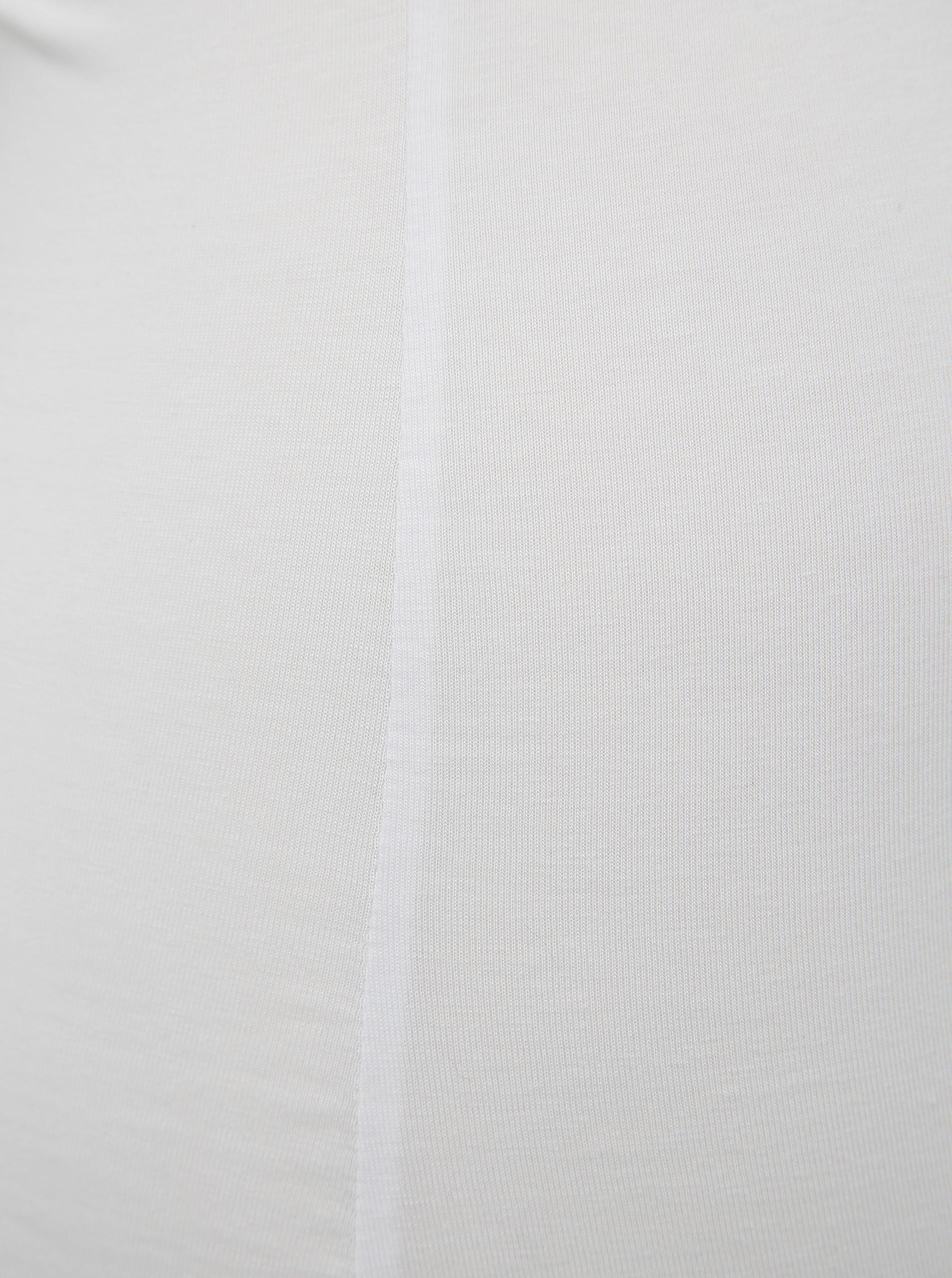 Rezervor alb cu dantelă VERO MODA Inge
