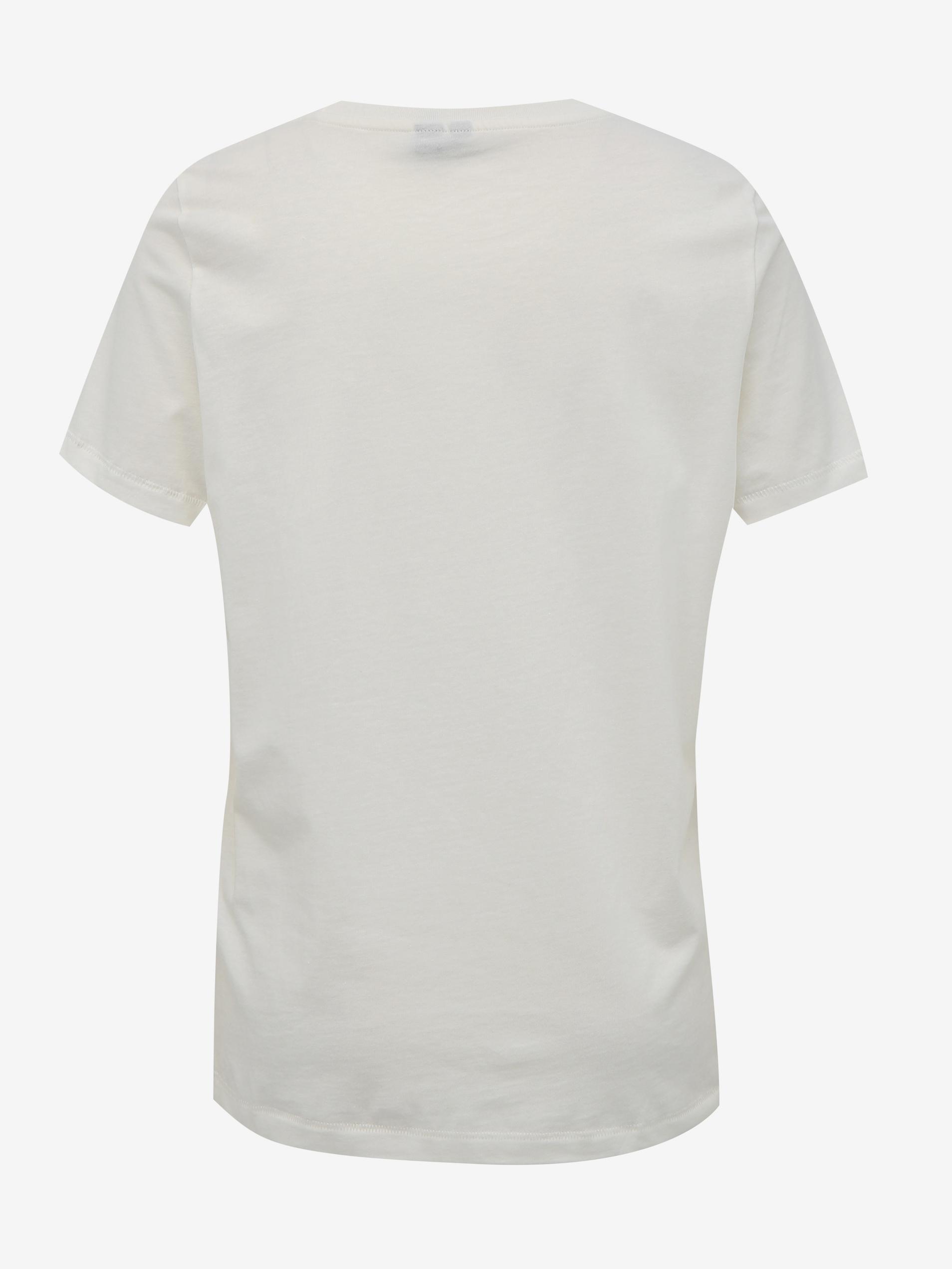 Vero Moda albe tricou Desert cu imprimeu