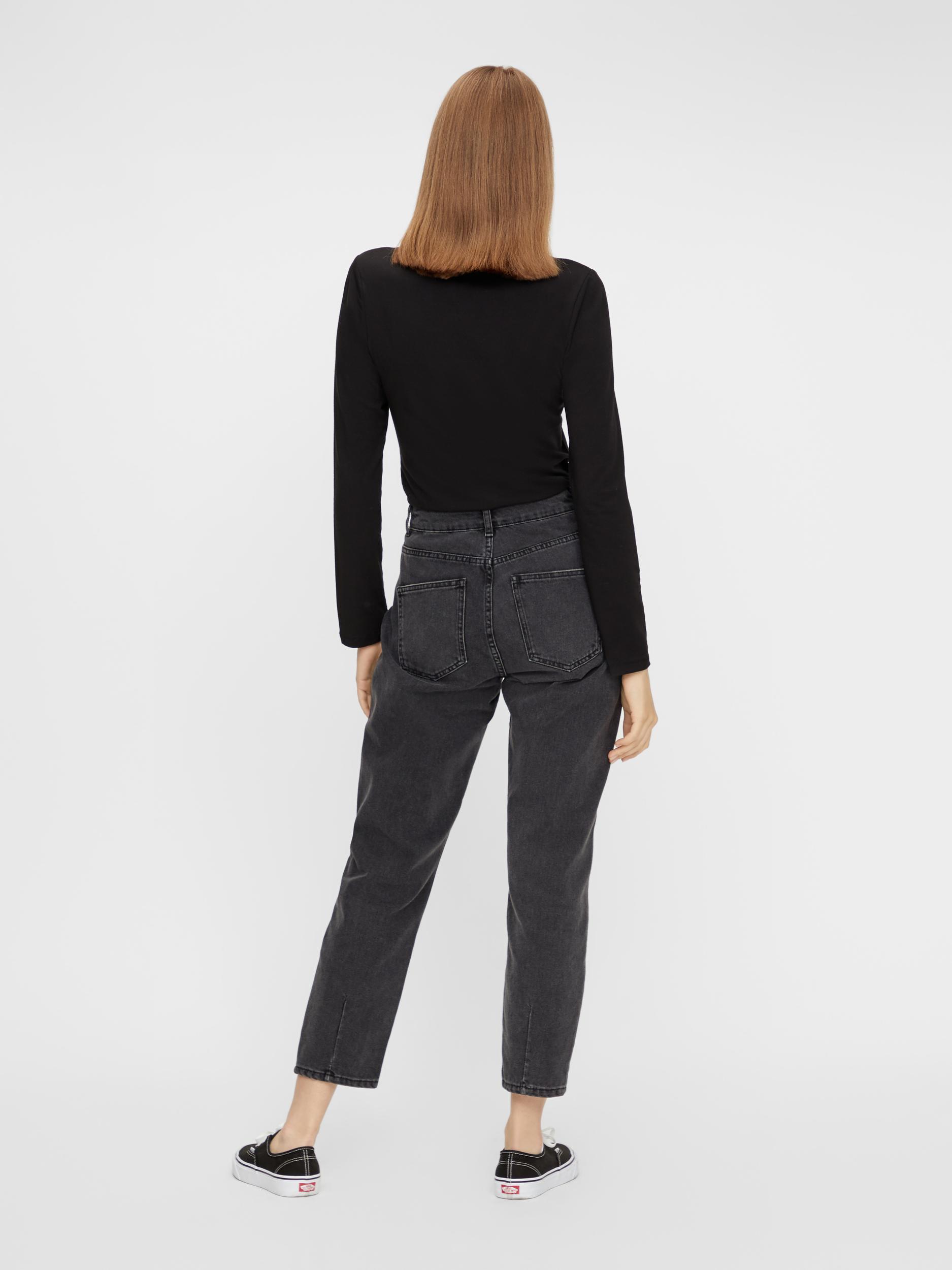 Tricou negru de bază Piese Sirene