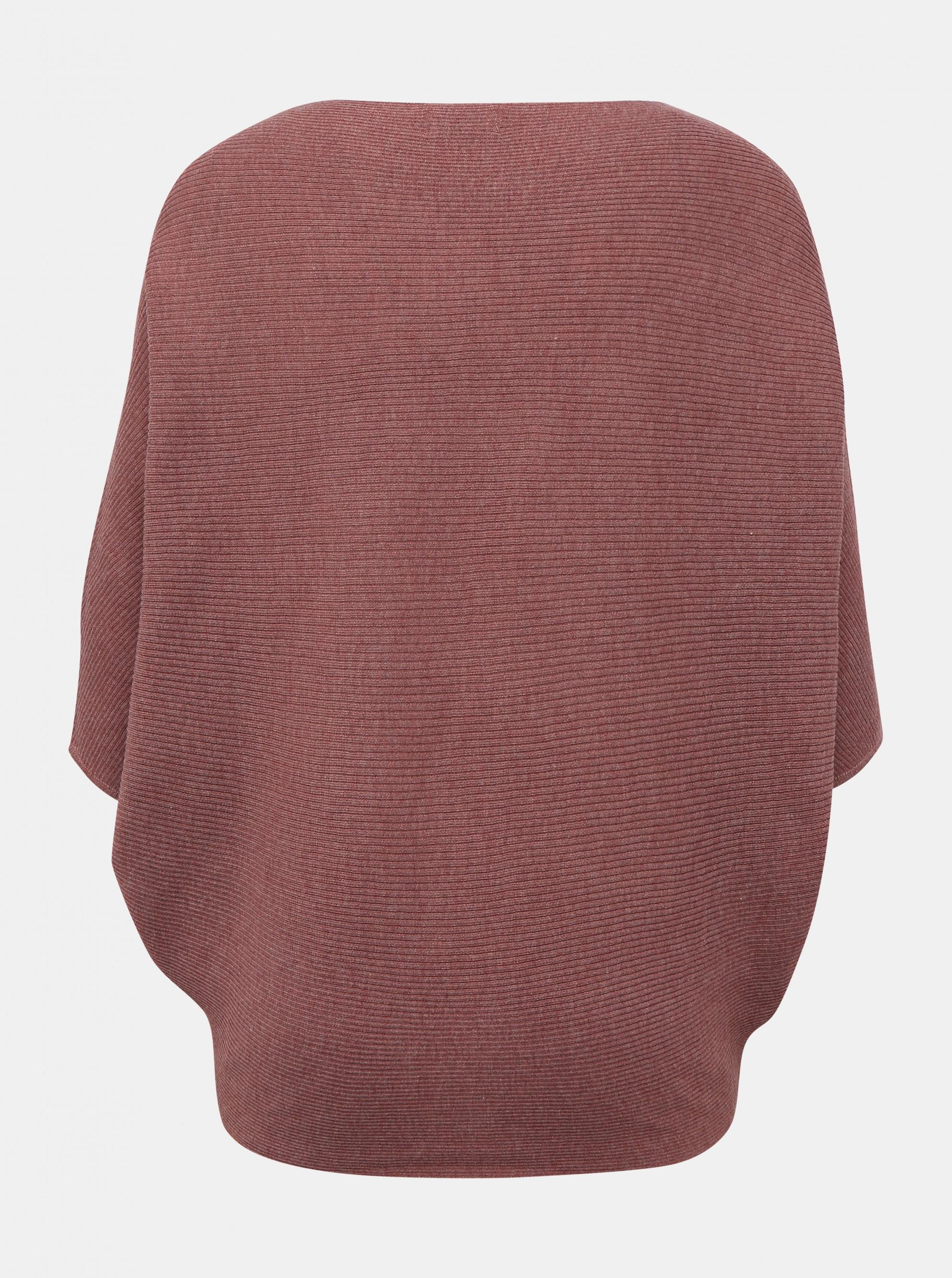 Jacqueline de Yong pulover vechi roz New Behave cu mâneci de bâtă