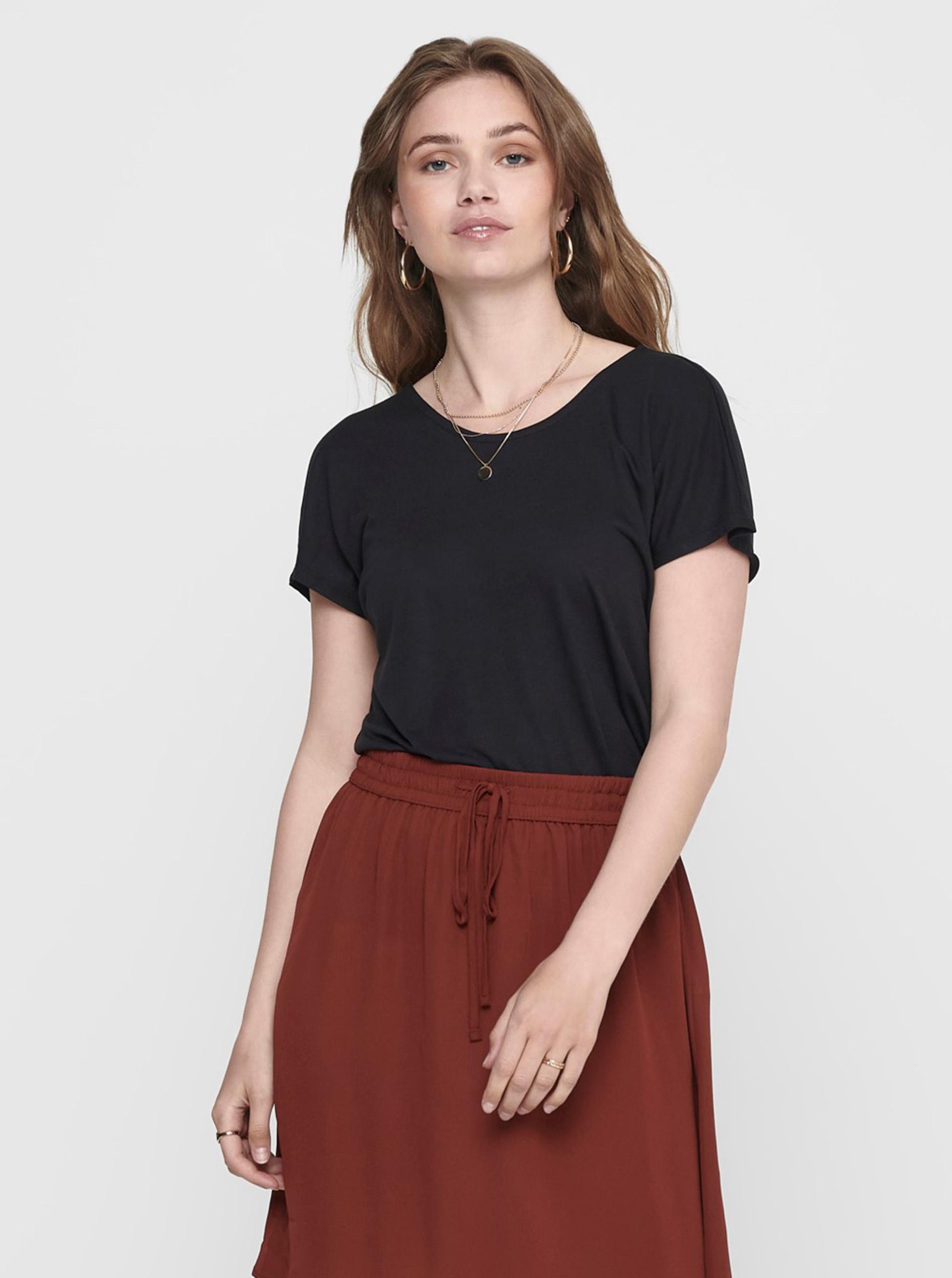 Tricou negru DOAR Carrie