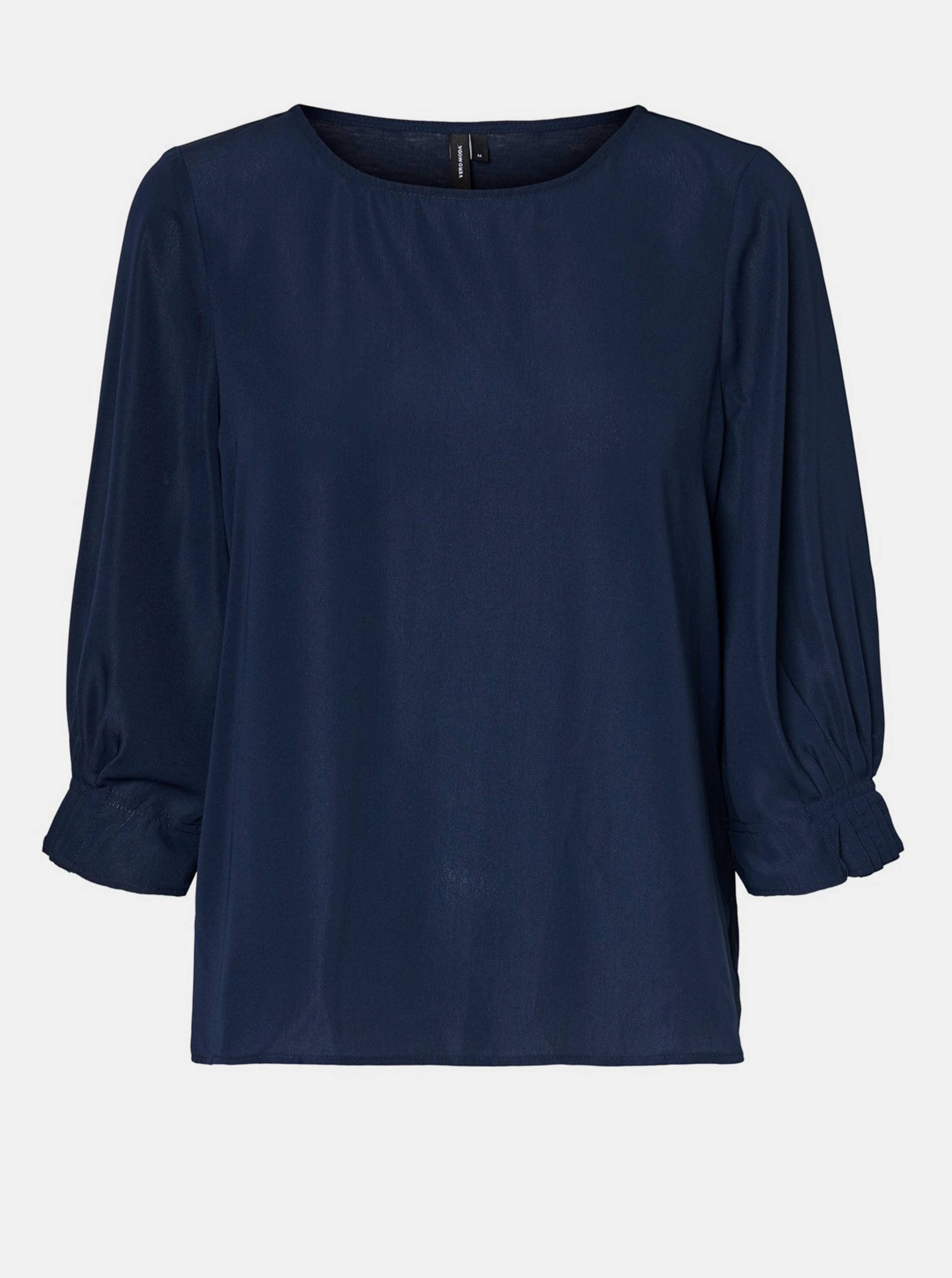 Bluză albastru închis VERO MODA Vonnie
