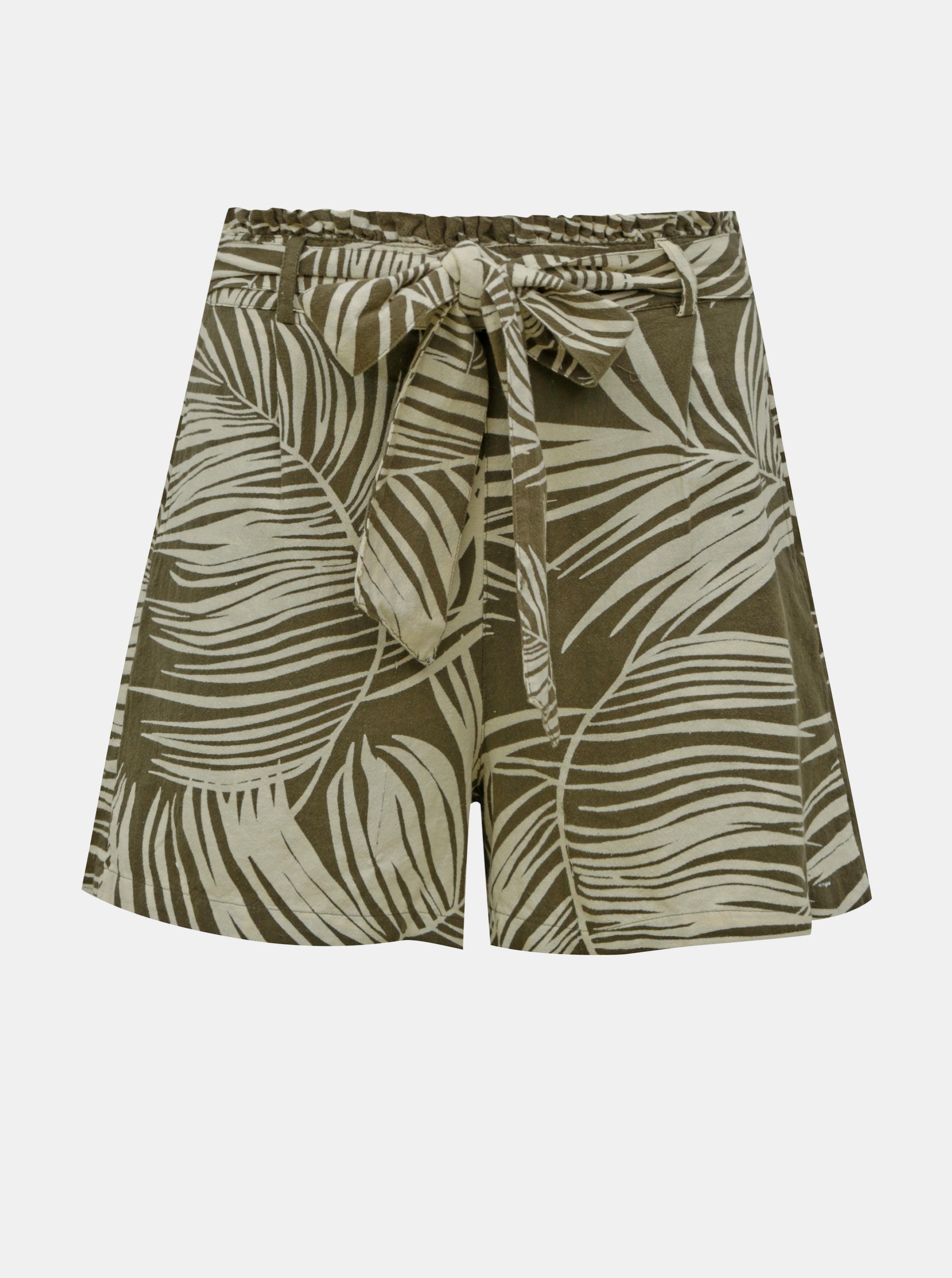 Pantaloni scurți cu model de kaki DOAR Rora