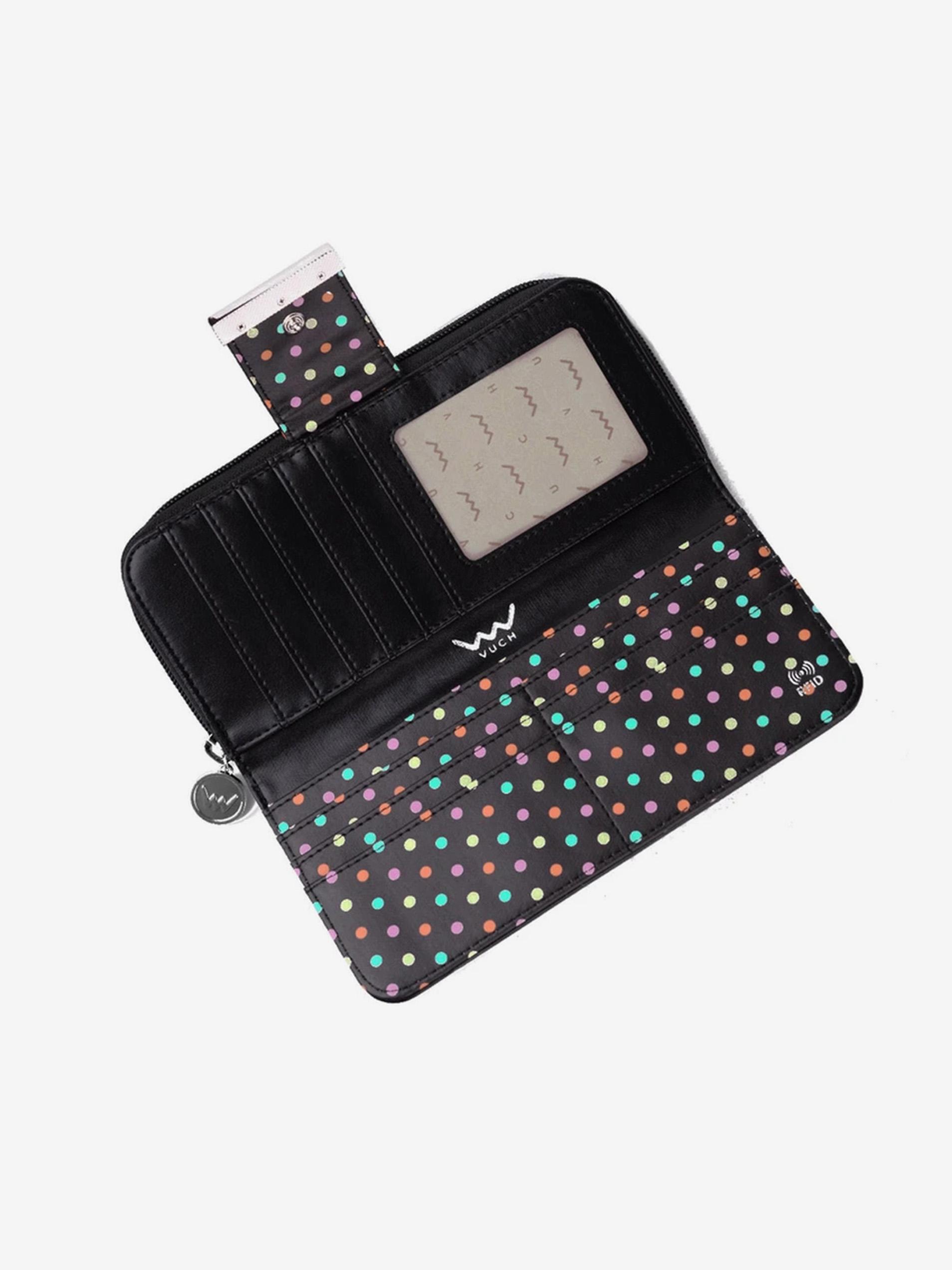 Vuch negre portofel Florianna