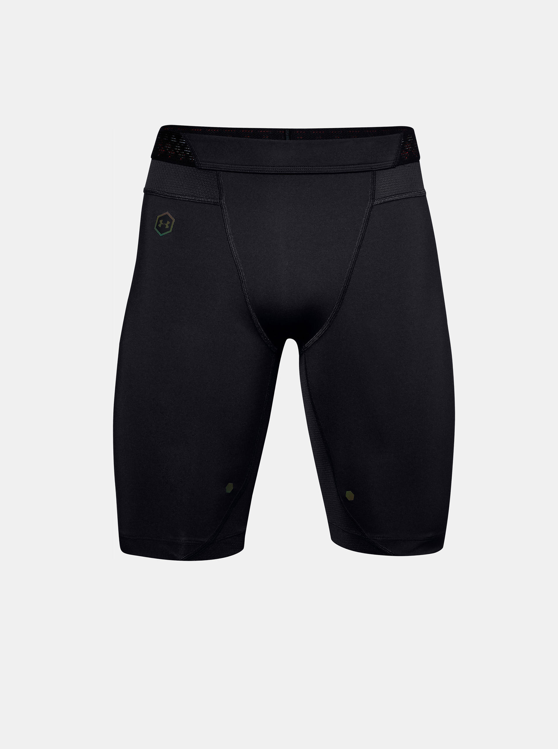 UA Rush Comp Short-BLK