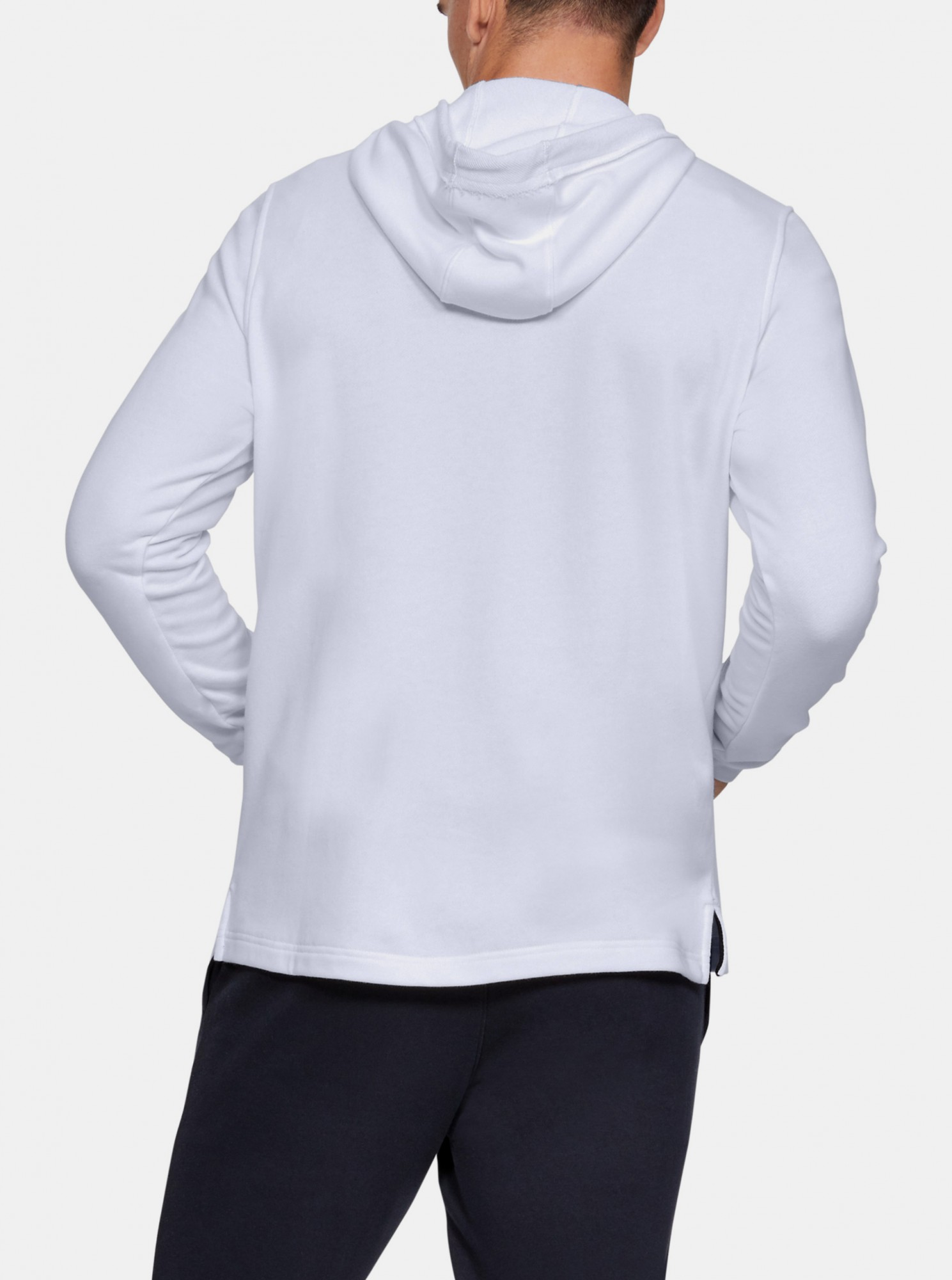 SPORTSTYLE TERRY HOODIE-WHT