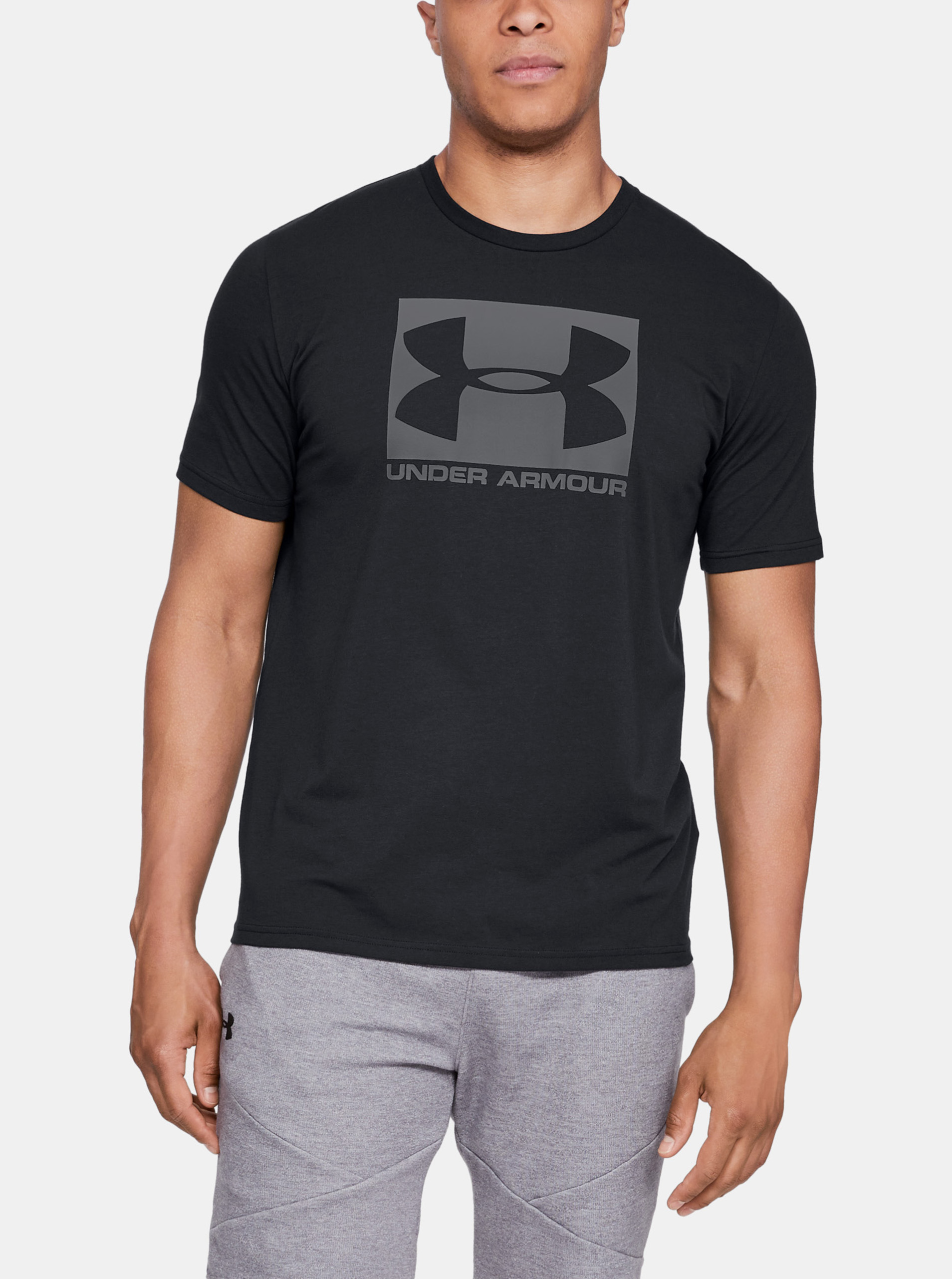 UA BOXED SPORTSTYLE SS-BLK