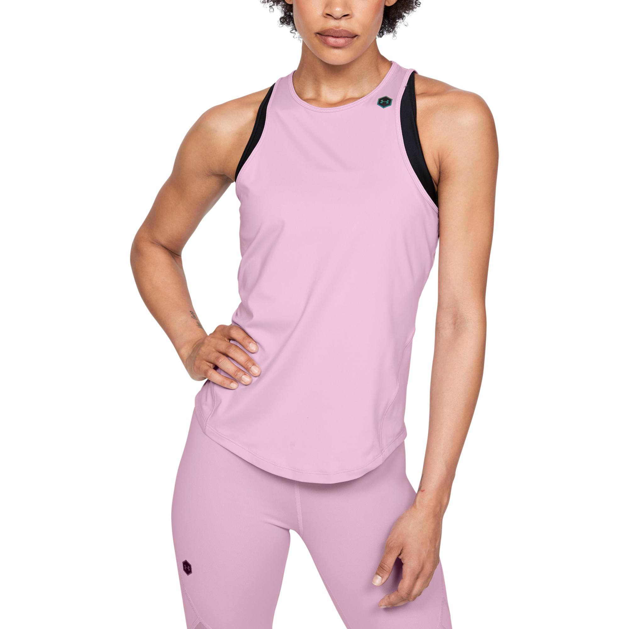 Maieu  Under Armour Rush Tank-Pnk