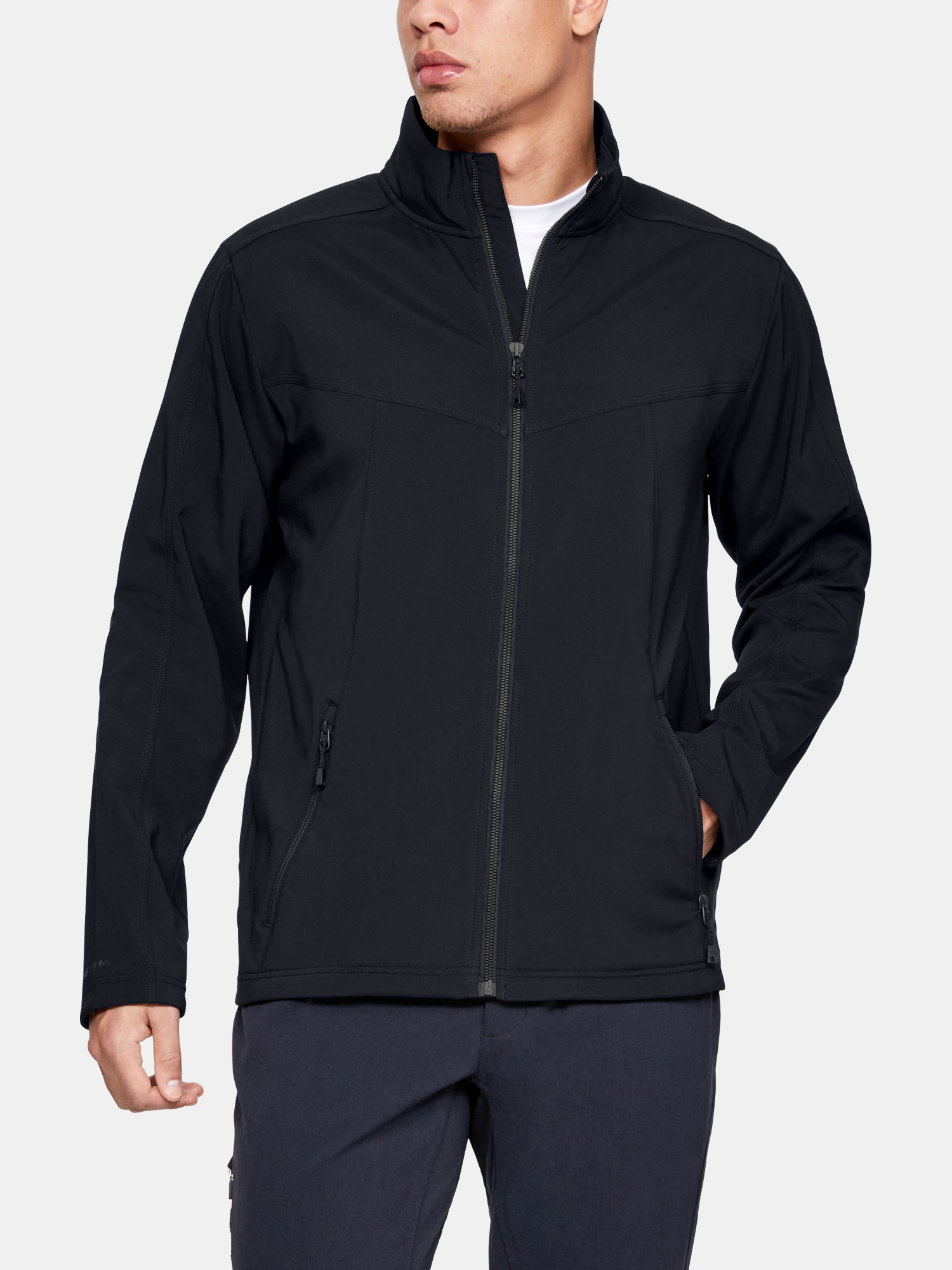 UA New Tac All Season Jacket-BLK