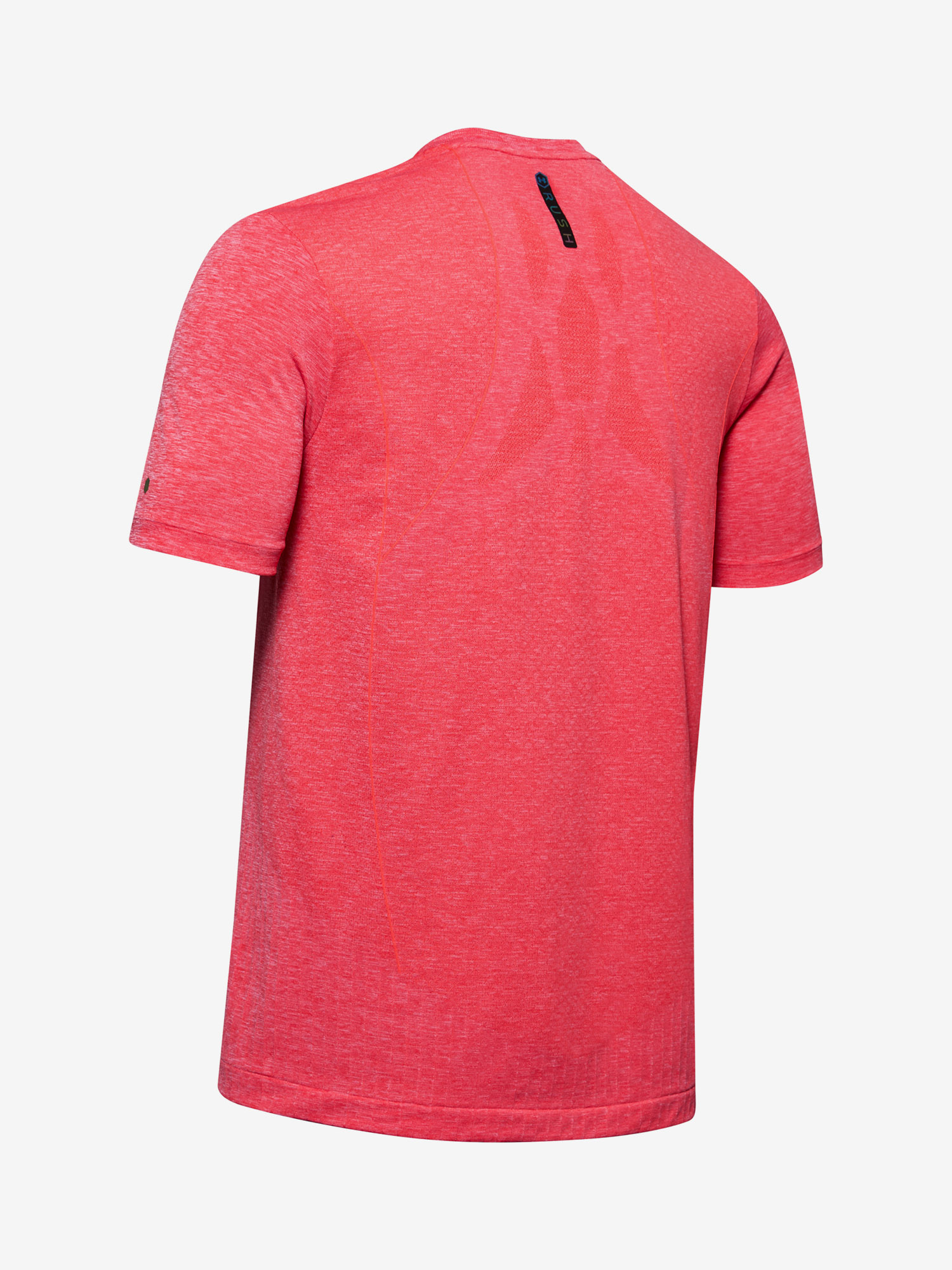 UA Rush Seamless Fitted SS-RED