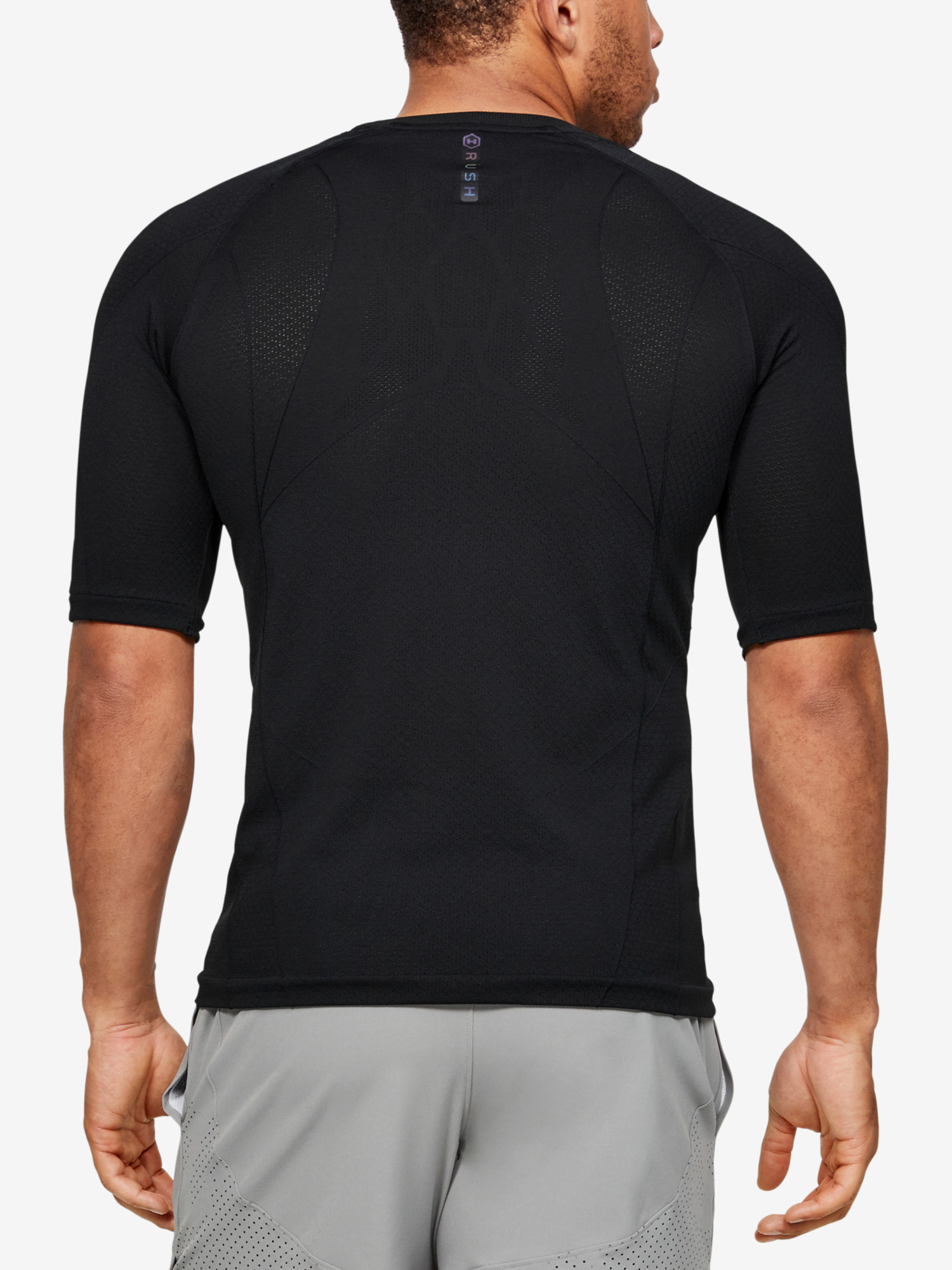 Rush HG Seamless Compression SS-BLK
