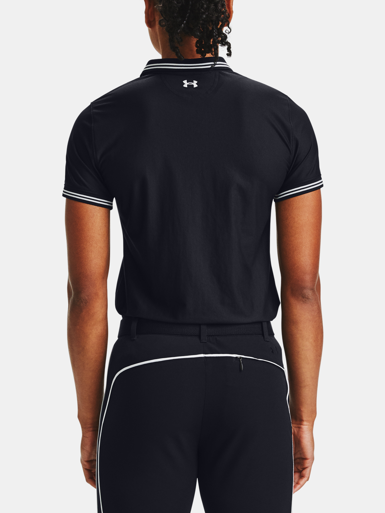Tricou Under Armour Zinger Pique Polo-BLK