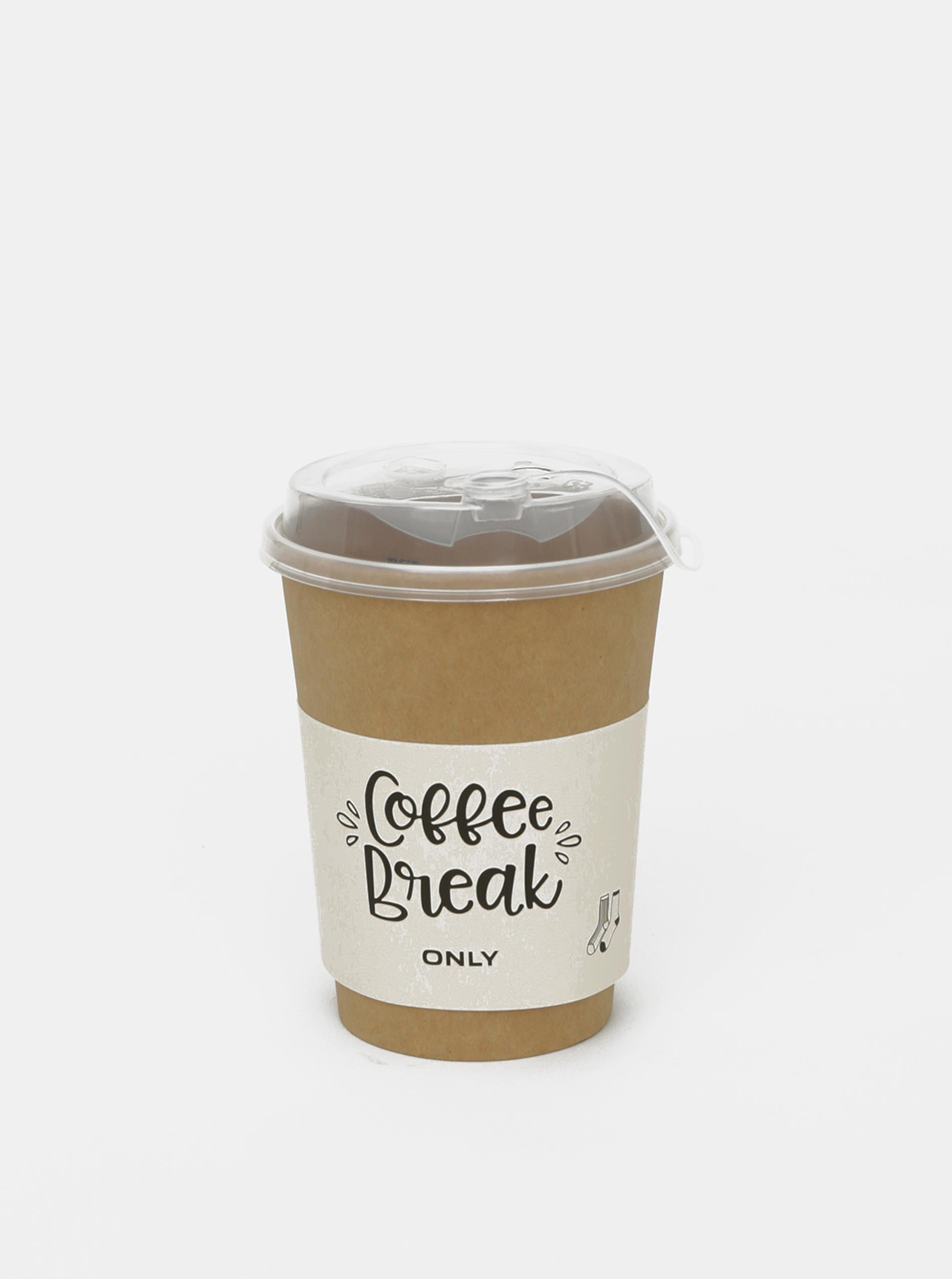 Set de două perechi de cenușii de cafea DOAR gri închis