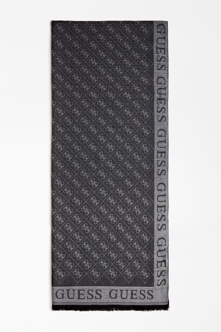 Guess negre sal Cathleen 4G Jacquard