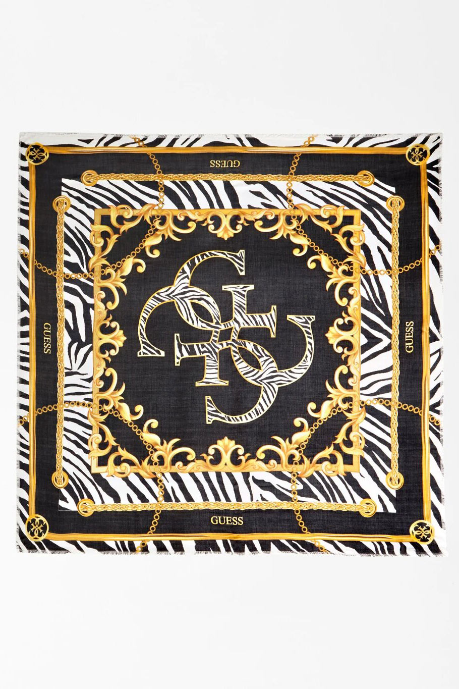 Guess colorate esarfa 4G Animalier Scarf