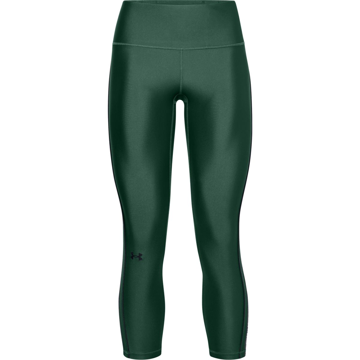 UA HG Armour WMT Ankle Crop-GRN