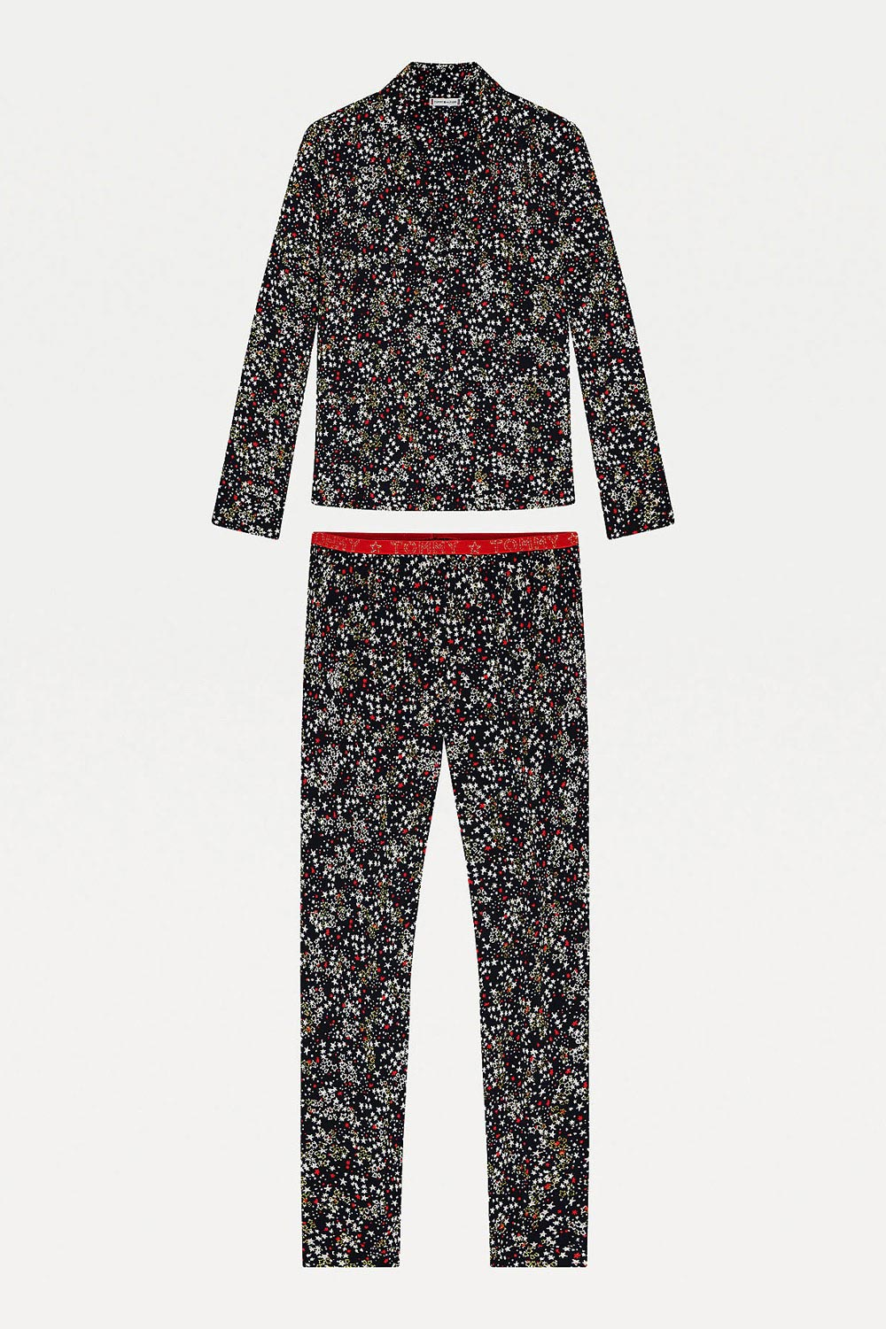 Tommy Hilfiger colorate pijama LS Set Holiday
