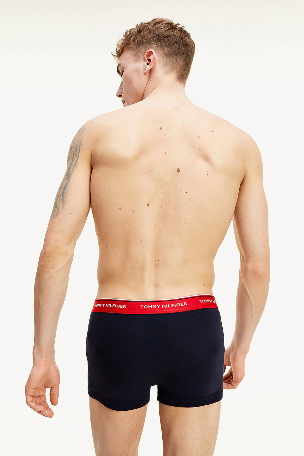 Tommy Hilfiger colorate 3 pack boxeri Trunk 3PK