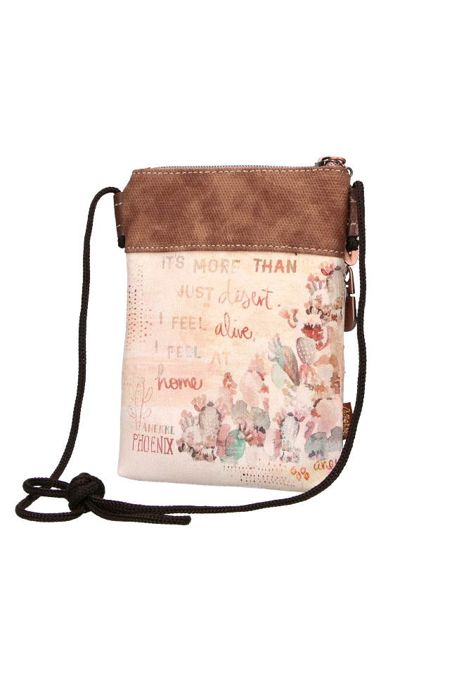 Anekke bej mica crossbody geanta Arizona Country