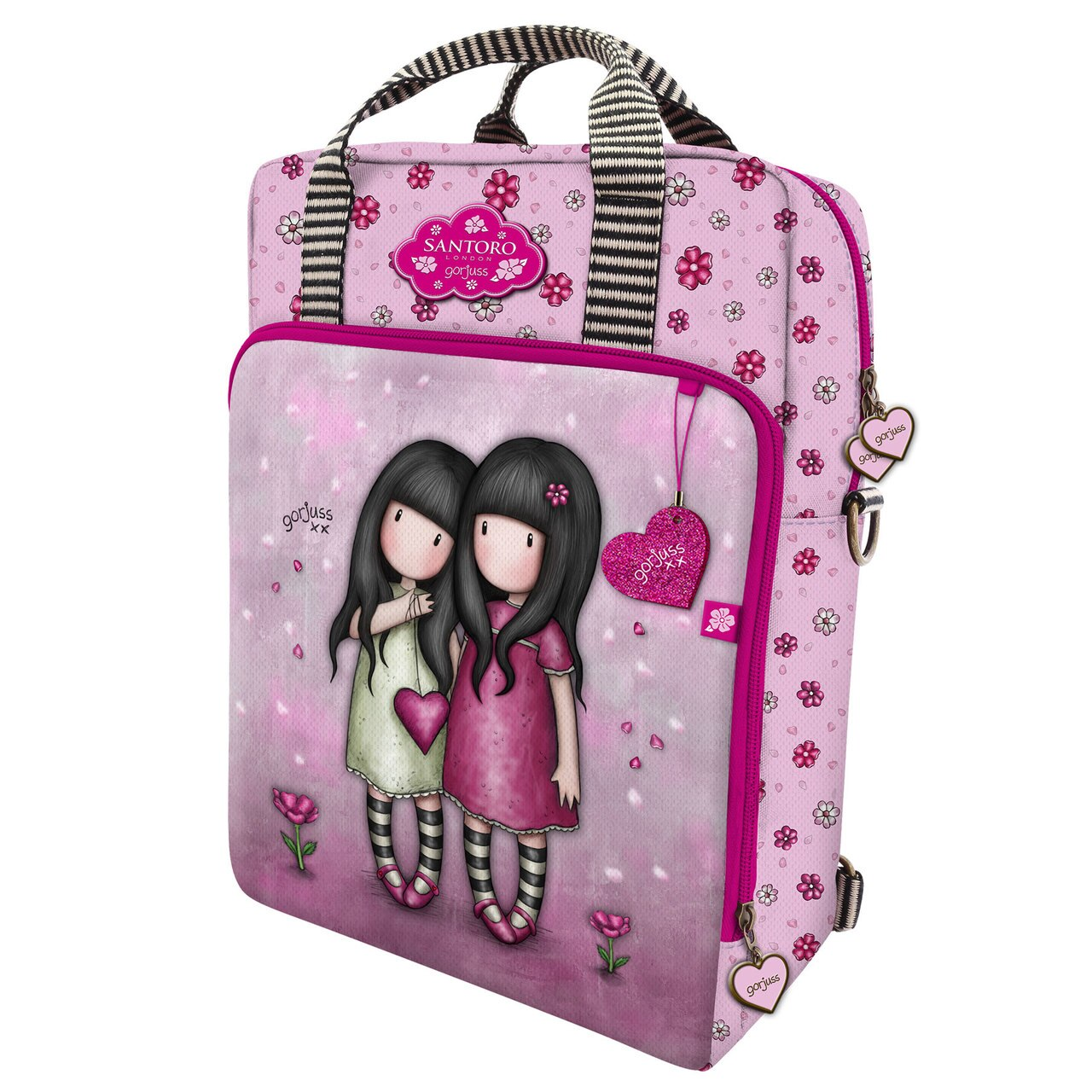 Santoro roz 2in1 rucsac Gorjuss You Can Have Mine